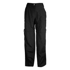 McKinley Black Morwell Half Zip Off Hiking Pants